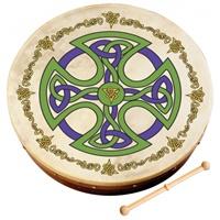 "Image for 12"" Brosna Celtic Cross Bodhran"