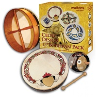 """Image for Waltons 12"""" Claddagh Bodhran Pack"""